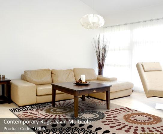 Contemporaray rug beige 4