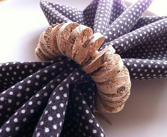 Napkin Ring cork 5