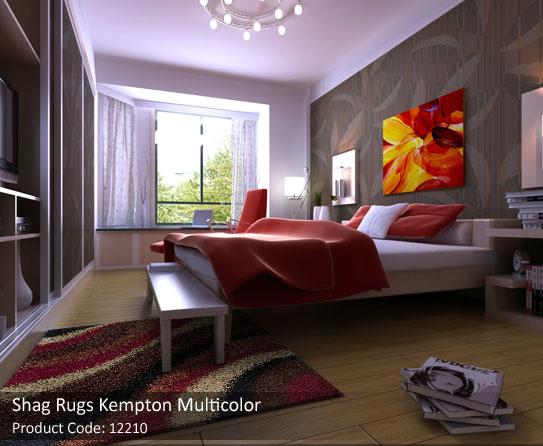 shag multicolor rugs 4
