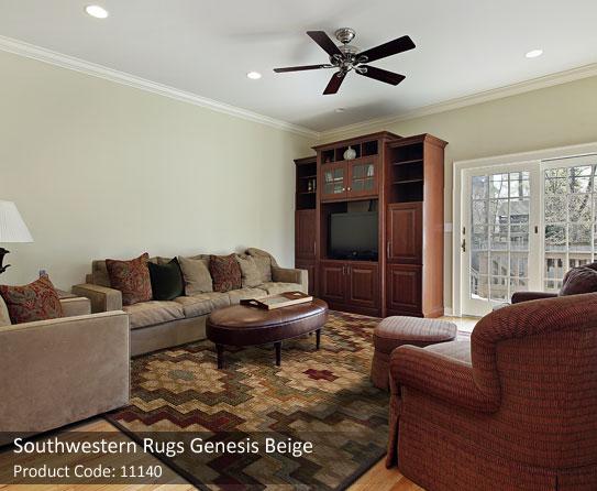 southwestern beige rugs 5