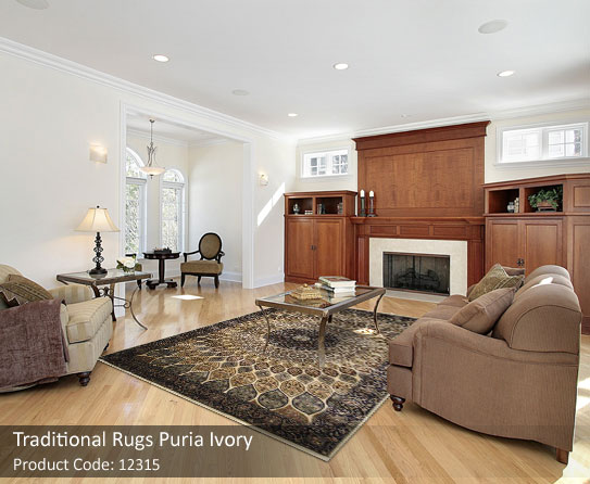 traditional ivory rugs 3