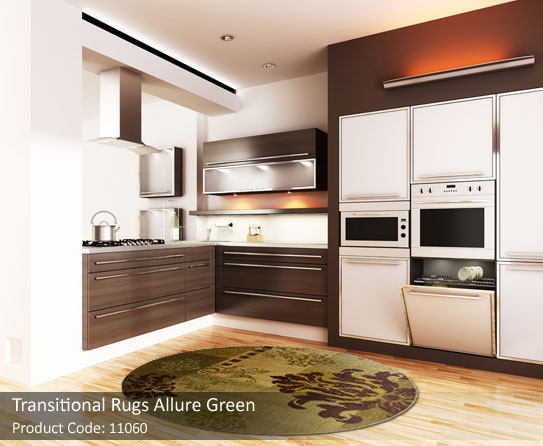 Green transitional-rug4