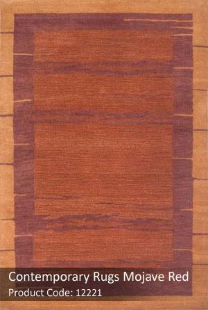 contemporary red rug4